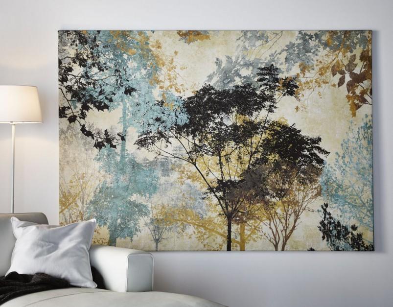 Melancholijny obraz z Obrazy i grafiki  pomysły na ścianę w sypialni  -> Obrazy Kuchni Ikea