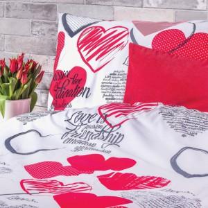Komplet bawełnianej pościeli Lovely. Uroczy i bardzo romantyczny. Fot. Home&You.