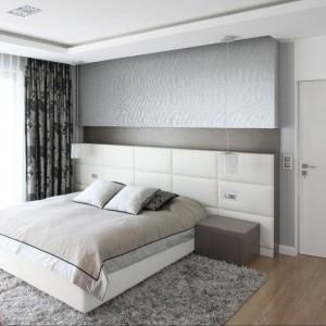 Ściany w sypialni. Wybierz tapicerowany zagłówek