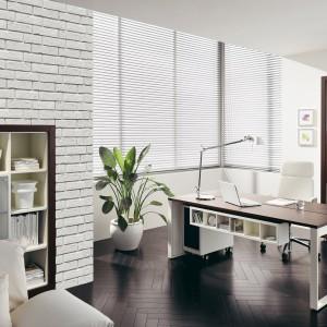 Biała cegła dekoracyjna doskonale współgra z niemal każdym wystrojem: meblami o współczesnym, nieco zachowawczym charakterze oraz utrzymanymi w bogatym, antycznym stylu. Fot. Max Stone.