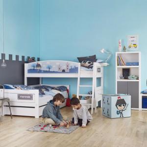 Jak ustawić łóżka w pokoju rodzeństwa?