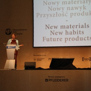 Wykład gościa specjalnego Arena Design Ineke Hans. Fot. Piotr Sawczuk.