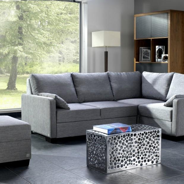 Mały salon. Wybierz odpowiednią sofę
