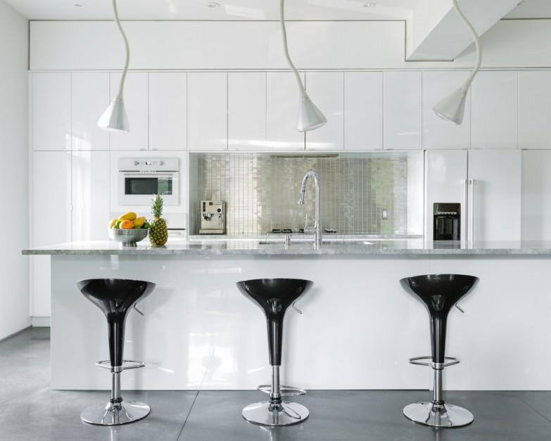 kuchnia zachwyca nowoczesne wnętrze piękne jasne