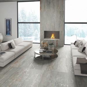 Kamienne płytki z kolekcji Zone marki Aparici. Modna, naturalna kolorystyka podkreśli urok minimalistycznego wnętrza oraz sprawi, że zyska ono bardziej wyrafinowany wygląd. Fot. Aparici.
