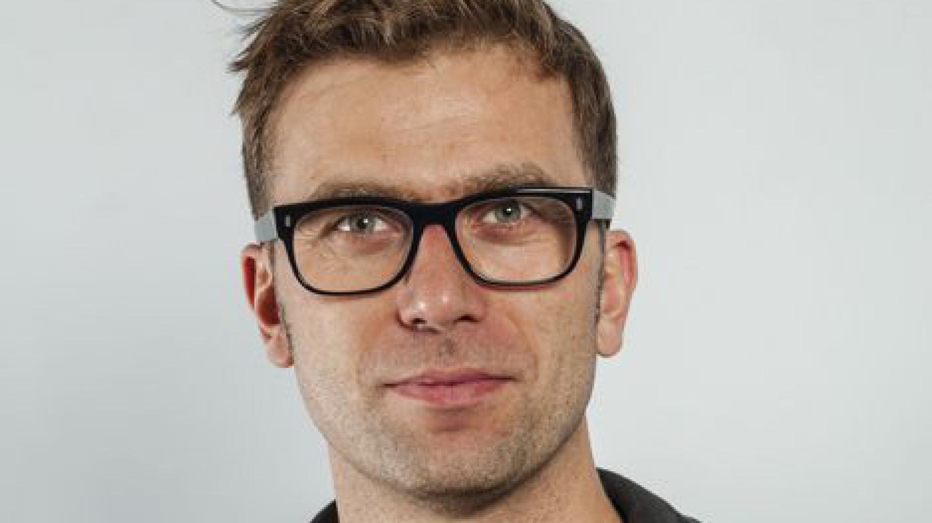 Tomek Rygalik, dyrektor kreatywny Paged. Fot. Archiwum