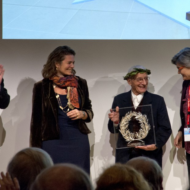 Alessandro Mendini laureatem The European Prize for Architecture