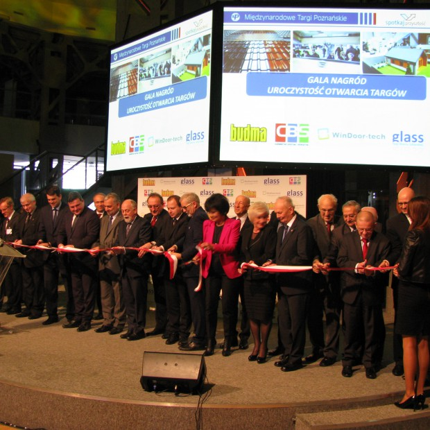 Budma 2015 – uroczyste otwarcie Targów i wręczenie Złotych Medali MTP