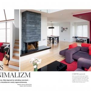 W środku magazynu prezentujemy między innymi... nasz przepis na minimalizm!