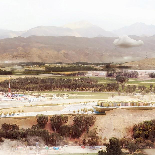 Projekt Centrum Kultury w Bamiyan w Afganistanie