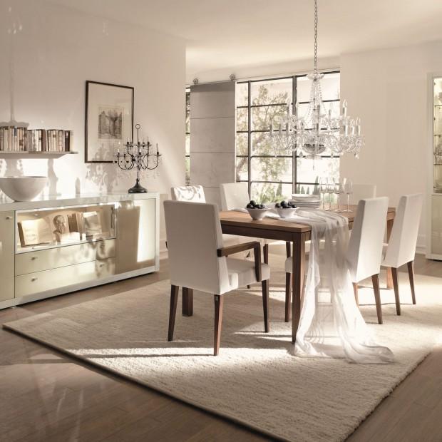 Modna jadalnia - 15 pomysłów na elegancki stół