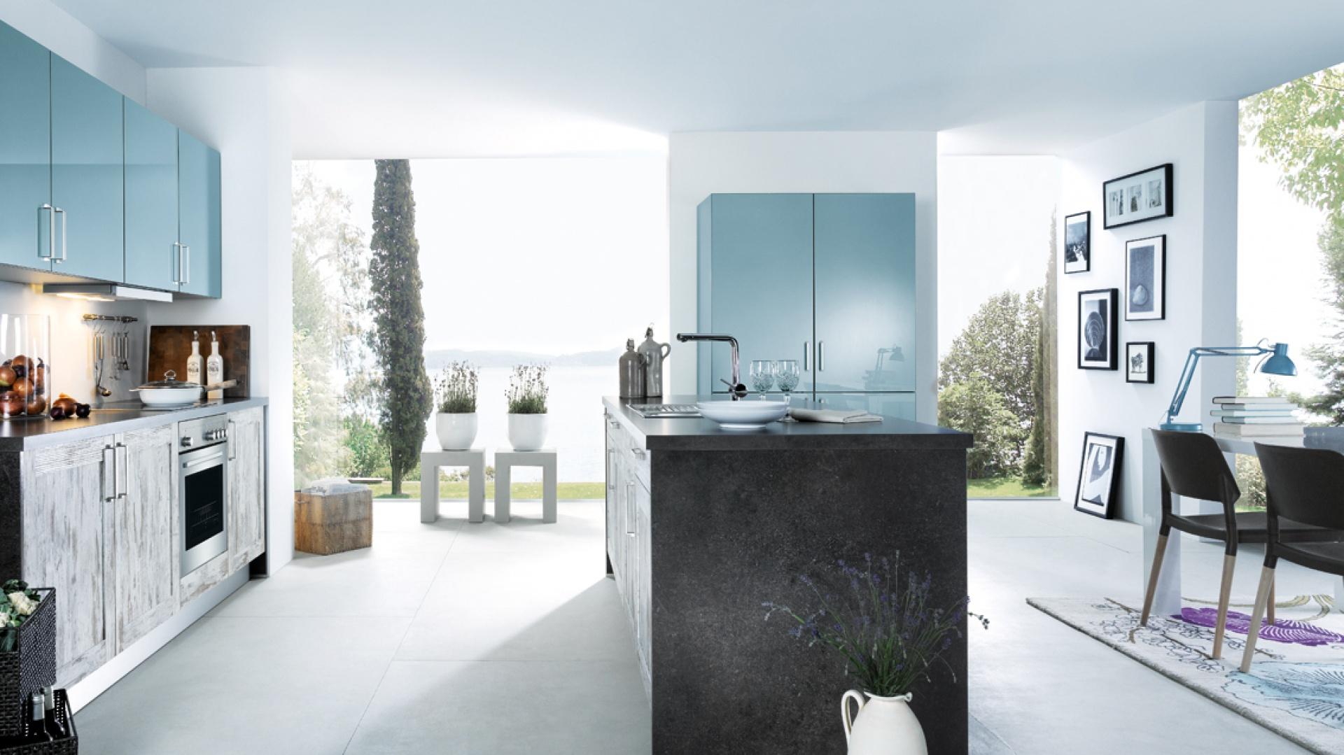 efektowne po czenie 20 pomys w na kuchni z wysp. Black Bedroom Furniture Sets. Home Design Ideas
