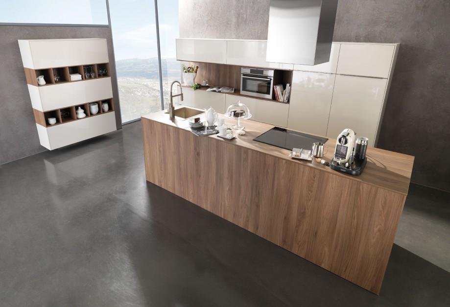 nowoczesna wyspa w kolorze 20 pomys w na kuchni z. Black Bedroom Furniture Sets. Home Design Ideas