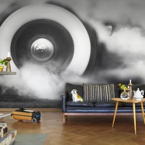 Fototapeta z kolekcji Nostalgic marki Mr Perswall przełamie nudną aranżację i wprowadzi do wnętrza melancholijny nastrój. Dekoracja idealna dla marzycieli. Fot. Mr Perswall.