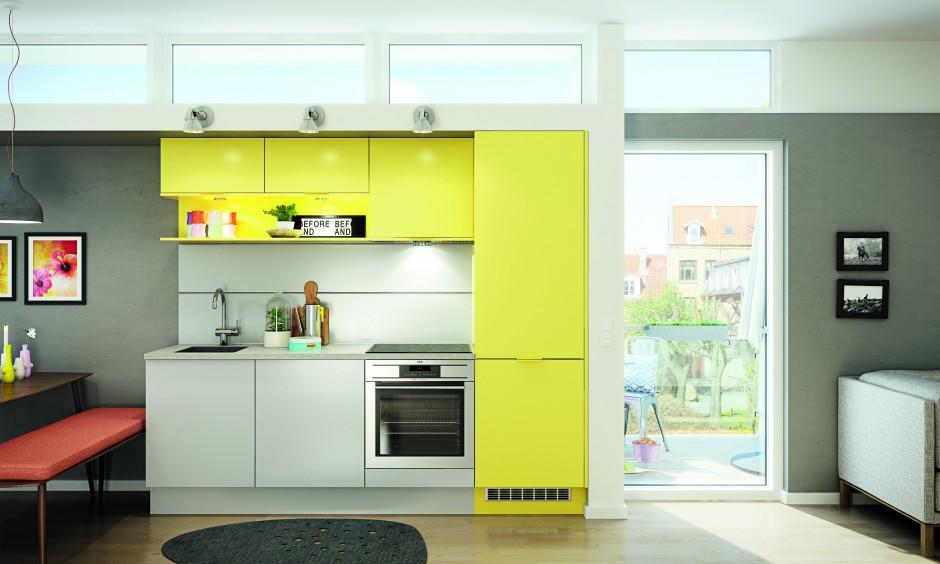 W przestrzeń, w której na Mała kuchnia 16   # Mala Kuchnia Loft