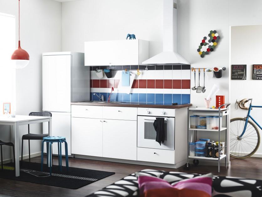 Niewielki aneks kuchenny z Mała kuchnia 16   -> Kuchnia Mala Ikea