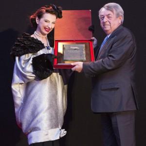 Laureatem plebiscytu Człowiek Roku 2014 został Andrzej Rybacki - prezes Grupy Polskich Kupców Meblowych. Fot. Bartosz Jarosz.