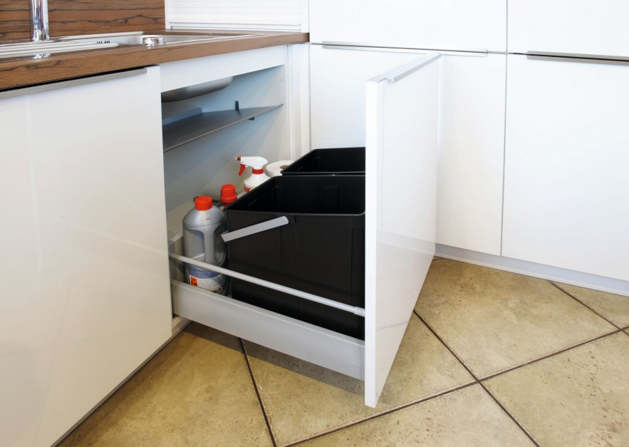 Zestaw pojemników 600 firmy Funkcjonalna kuchnia sortowniki odpadów fir   -> Kuchnia Funkcjonalna Meble