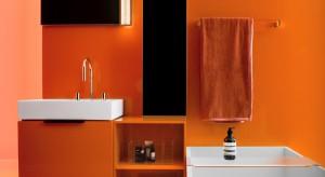 """Nowa kolekcja wyposażenia łazienki """"Kartell by Laufen""""powstała w wyniku synergii dwóch marek.Charakteryzuje ją wyrazista geometria ceramiki, barwne meble oraz transparentne szafki, a do tego wysoka jakość materiałów."""