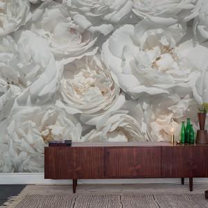 Chińskie róże w pełnym rozkwicie zbudują romantyczny nastrój w każdym wnętrzu. Fot. Mr. Perswall.