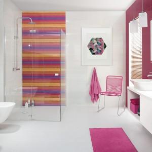 Płytki w łazience - piękne, kolorowe kolekcje
