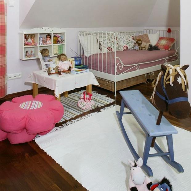 Mały pokój dla dziewczynki. Prosty sposób na wnętrze