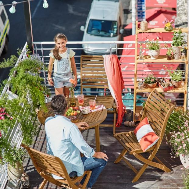 Mały balkon - pomysły na aranżację