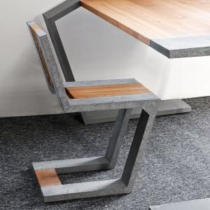 Gravity z serii Modern Line - niezwykłej, oryginalnej kolekcji mebli betonowych o minimalistycznej formie. Fot. Bruk.
