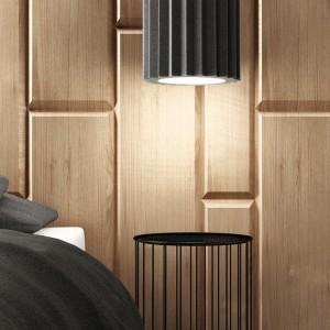 ACU Lamp - lampa wykonana z pianki akustycznej. Fot. archiwum projektanta.