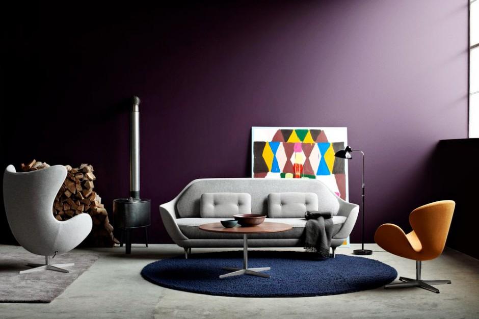 Fotel Egg powstał w 1958 roku do holu i recepcji hotelu Royal w Kopenhadze. Fot. Fritz Hansen/Squarespace.