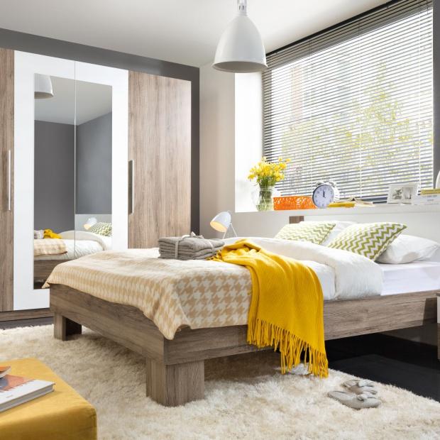 Meble w kolorze drewna. 15 modnych propozycji do sypialni