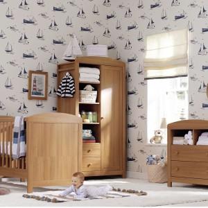 Pokój małego dziecka. Piękne wnętrza dla niemowlaków
