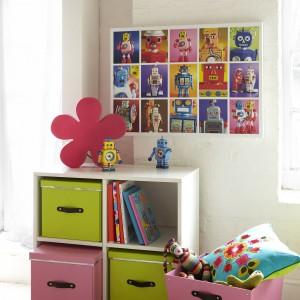 Skrzynki na zabawki to nieodłączny element wyposażenia pokoju kilkulatka. Fot. Roll Out Quadrant.