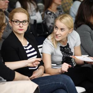 Można było wymienić się opinią, który punkt programu jest najbardziej interesujący. / fot. Bartosz Jarosz