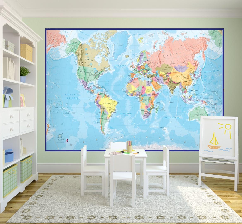 Ściana W Pokoju Dziecka Najfajniejsze Tapety Dla
