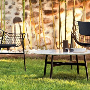 Kolekcja mebli ogrodowych Summerset. Projekt: Christophe Pille. Fot. Veraschin.