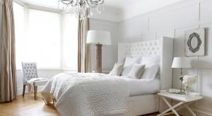 Eleganckasypialnia wymaga wyjątkowych rozwiązań. W naszej galerii znajdziecie podpowiedzi jak wyczarować elegancką sypialnię jak z bajki.