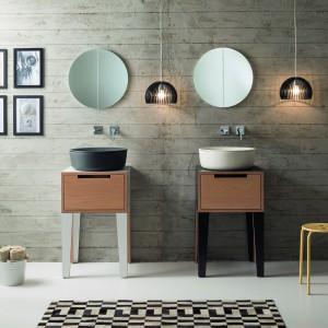 W tym roku podczas targów stosunkowo niewiele było nowości łazienkowych (prawdziwego ich zatrzęsienia możemy się spodziewać w roku 2016, kiedy łazienka będzie miała swoją specjalną strefę). Największe marki mimo wszystko zaprezentowały swoje nowości. Na zdjęciu: umywalka Mizu firmy Scarabeo. Fot. Scarabeo.