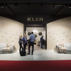 Możliwość zaprezentowania swoich produktów na targach Salone del Mobile to wielki zaszczyt, którego nie dostępują wszyscy. Wśród polskich firm, obecnych na iSaloni znalazł się między innymi Kler. Firma już po raz jedenasty prezentowała kolekcje mebli w Mediolanie. Fot. Kler.