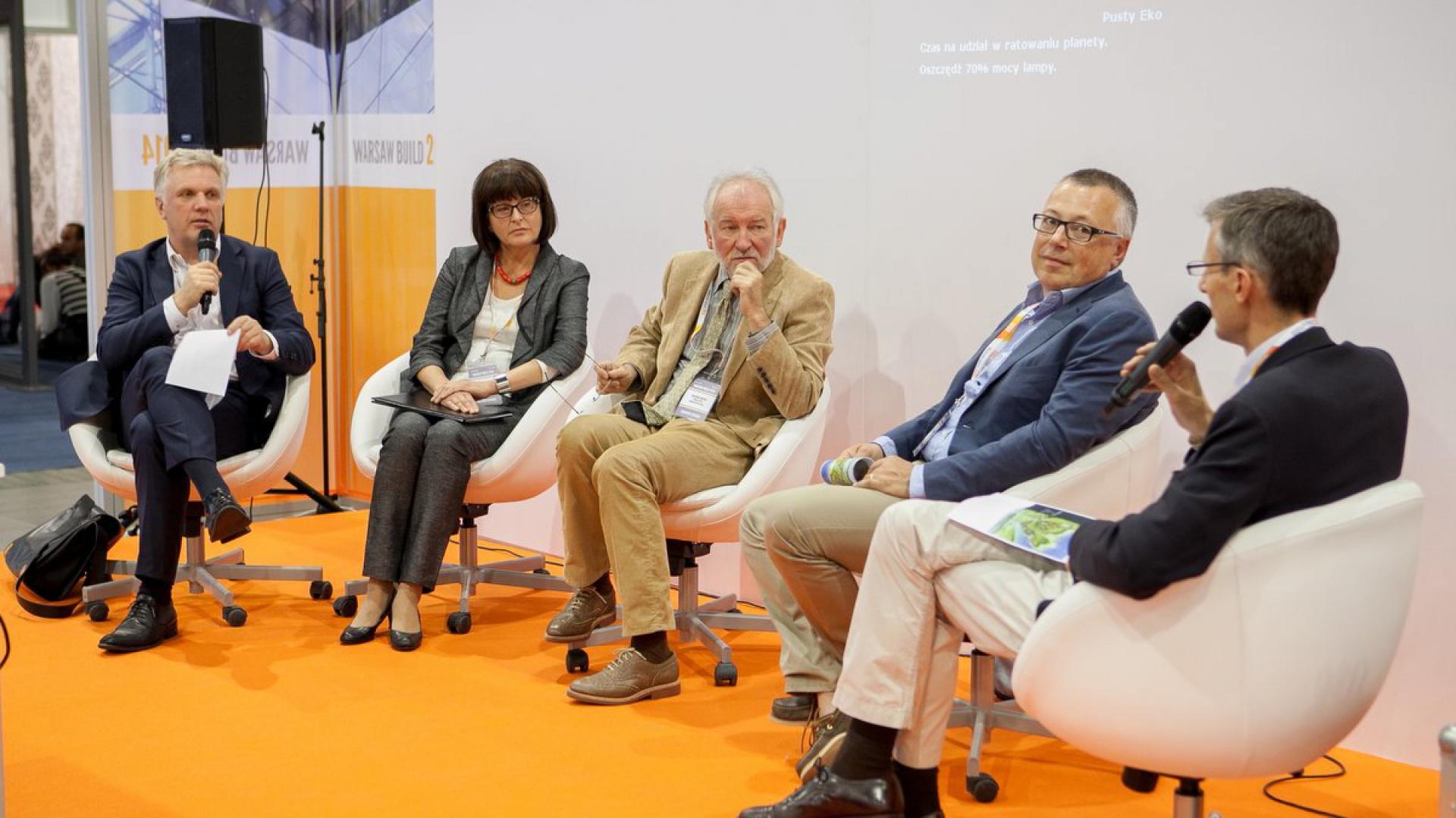 Debata ekspertów Warsaw Build 2014. Fot. Warsaw Build