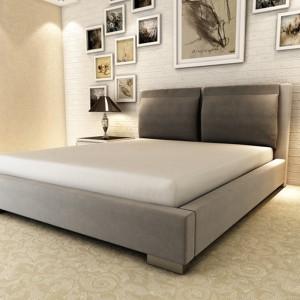 Łóżko tapicerowane VALENZIA 100 oferowane przez firmę Eccelent. Fot. Mega Meble.