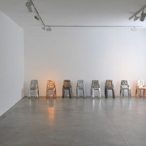 """Krzesła Chippensteel to """"napompowane"""", ultracienkie blachy stalowe. Są lekkie i bardzo wytrzymałe. Projekt: Zieta Prozessdesign. Fot. Zieta Prozessdesign."""