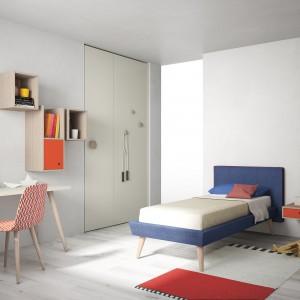 Styl skandynawski to jeden z najmodniejszych trendów w aranżacji wnętrz. Proste formy i jasne kolory z pewnością przypadną do gustu nie jednej nastolatce. Fot. Go Modern Furniture.