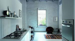 W kuchni w odcieniach pastelowych, idealnie sprawdzi się klasyczna, kremowa płyta gazowa Franke Trend Line.