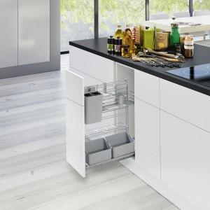 Kompaktowy wyciąg cookingAGENT do przechowywania produktów często używanych podczas gotowania. Fot. Peka.