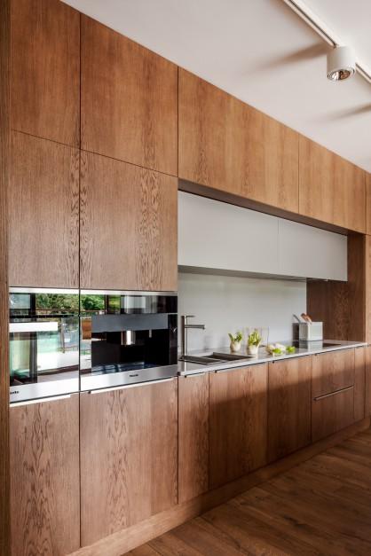 Całość przestrzeni Kuchnia dla mężczyzny nowoczesna i funkcjonalna  St   -> Funkcjonalna Kuchnia Nowoczesna