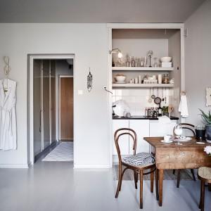 Małe, eleganckie mieszkanie. Zobacz jak urządzono 25 metrów