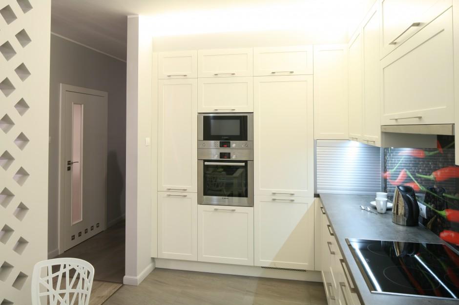 W tym mieszkaniu kuchnia, Kuchnia otwarta na salon   -> Kuchnia A Salon