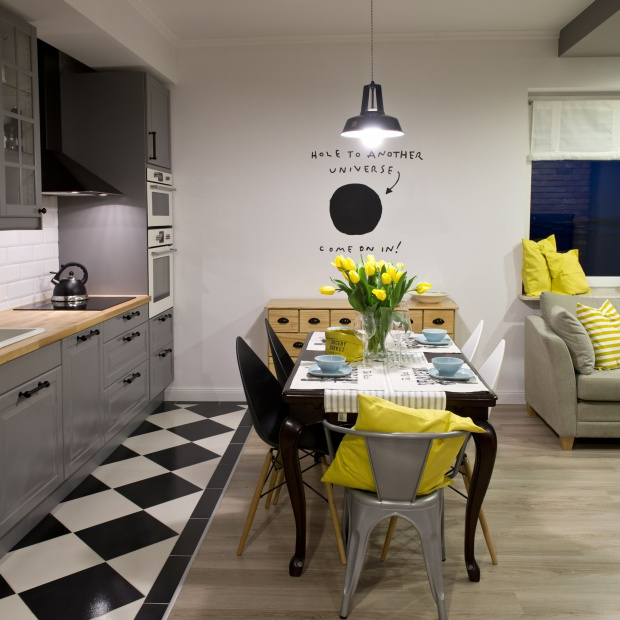 Mieszkanie w stylu retro. Zobacz piękne wnętrze