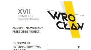 Od 2 do 10 czerwca 2015 roku, w konkursie Koło, na projekt wrocławskiej łazienki publicznej, mogą głosować internauci. Zgłoszonych i zaakceptowanych zostało 148 projektów.
